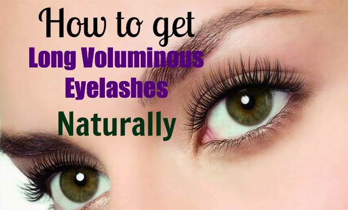 How to Get Long Voluminous Eyelashes Naturally With Just One Ingredient