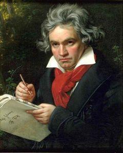 Stieler portrait in The Harmonicon's office