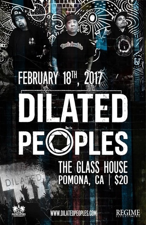 Dilated Peoples The Glass House Pomona February 18 2017 LA