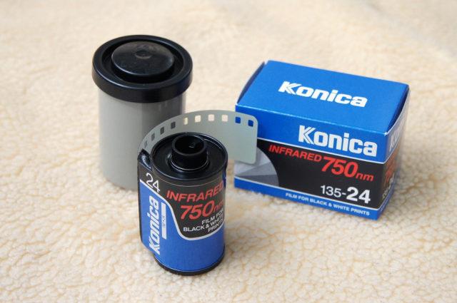 konica infrared film
