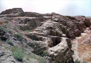 Ruinas de la ciudad asiria de Assur