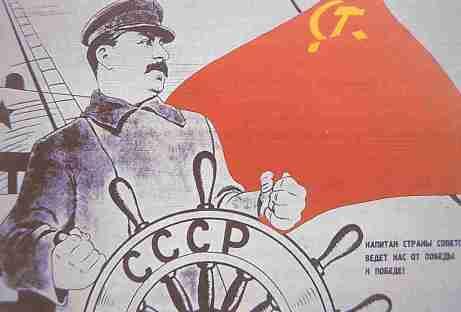 Stalin como capitán del barco comunista, frente que Pío XII quería frenar a toda costa