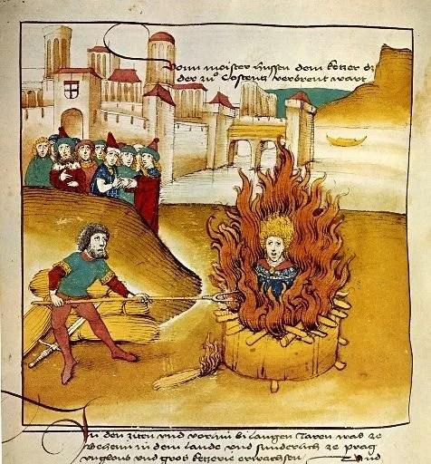 hoguera inquisición