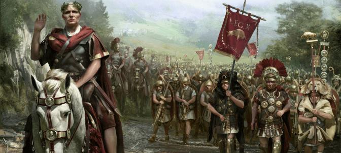 César y su ejército