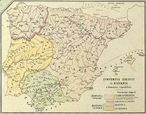 Provincias romanas de Hispania en el 300 d.C