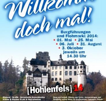 Tipp: geführte Wanderung zur Burg Hohlenfels am 06.07.2014