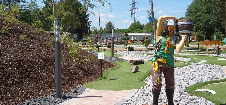 Adventure Golf – die neue Attraktion im Sportpark Linter
