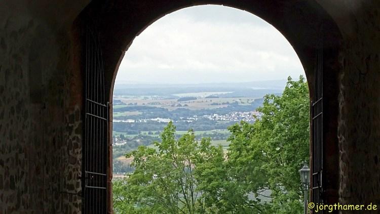 Lahnwanderweg - Burg Gleiberg
