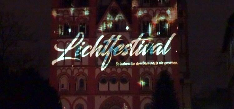 Lichtfestival Limburg – der Dom kunstvoll beleuchtet – Video