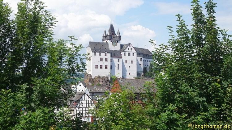 Lahnwanderweg Grafenschloß Diez