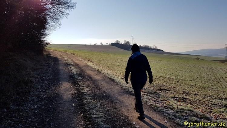 IVV Wanderung Limburg Steigung bei Mensfelden