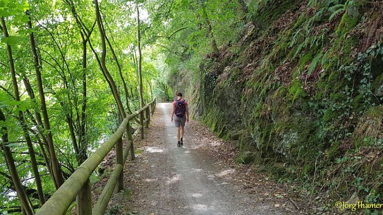 Wanderweg an der Lahn
