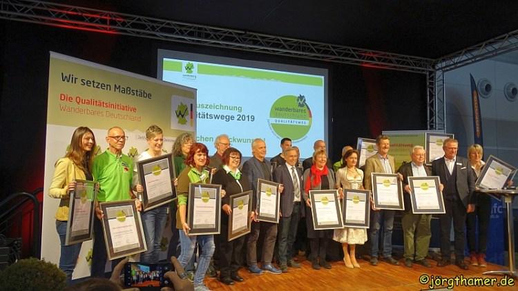 Zertifizierung Qualitätswege Wanderbares Deutschland