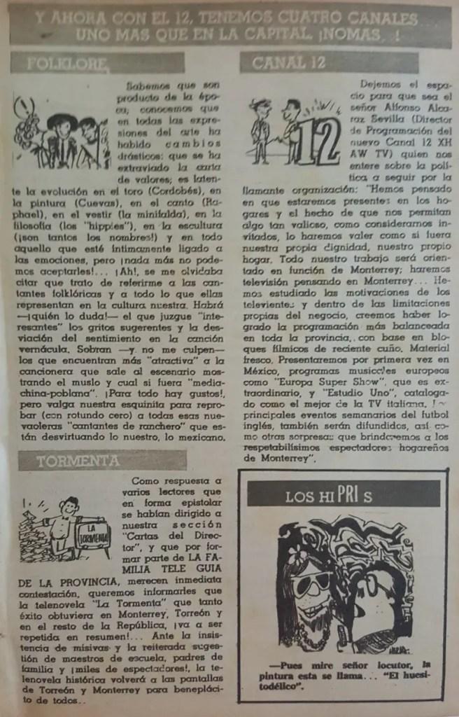 Revista Tele Guía 26 de febrero de 1968 - Parte 1/5