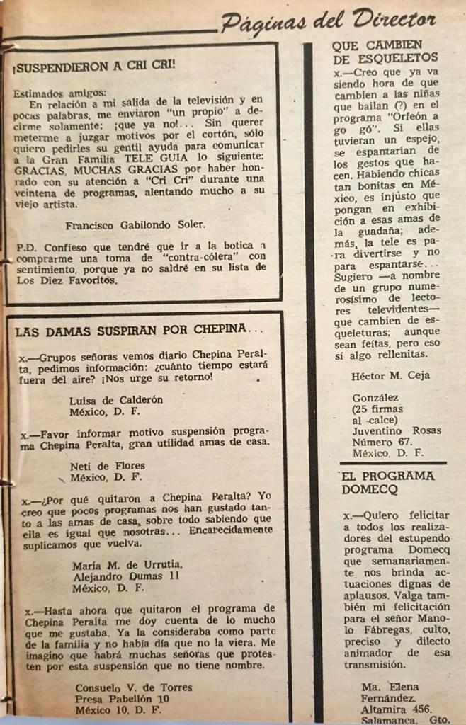 revista tele guia 1969