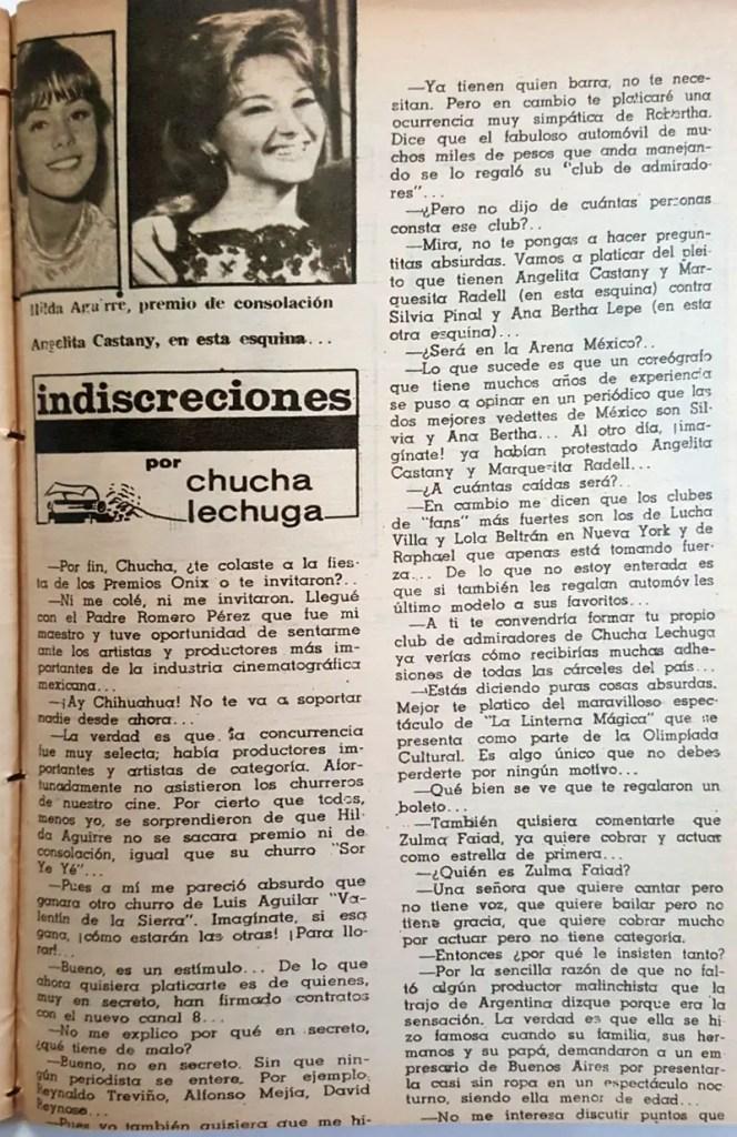 Revista Tele Guía 23 de enero de 1969 - Parte 7/8