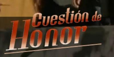 Cuestión de Honor. Crítica final de la telenovela