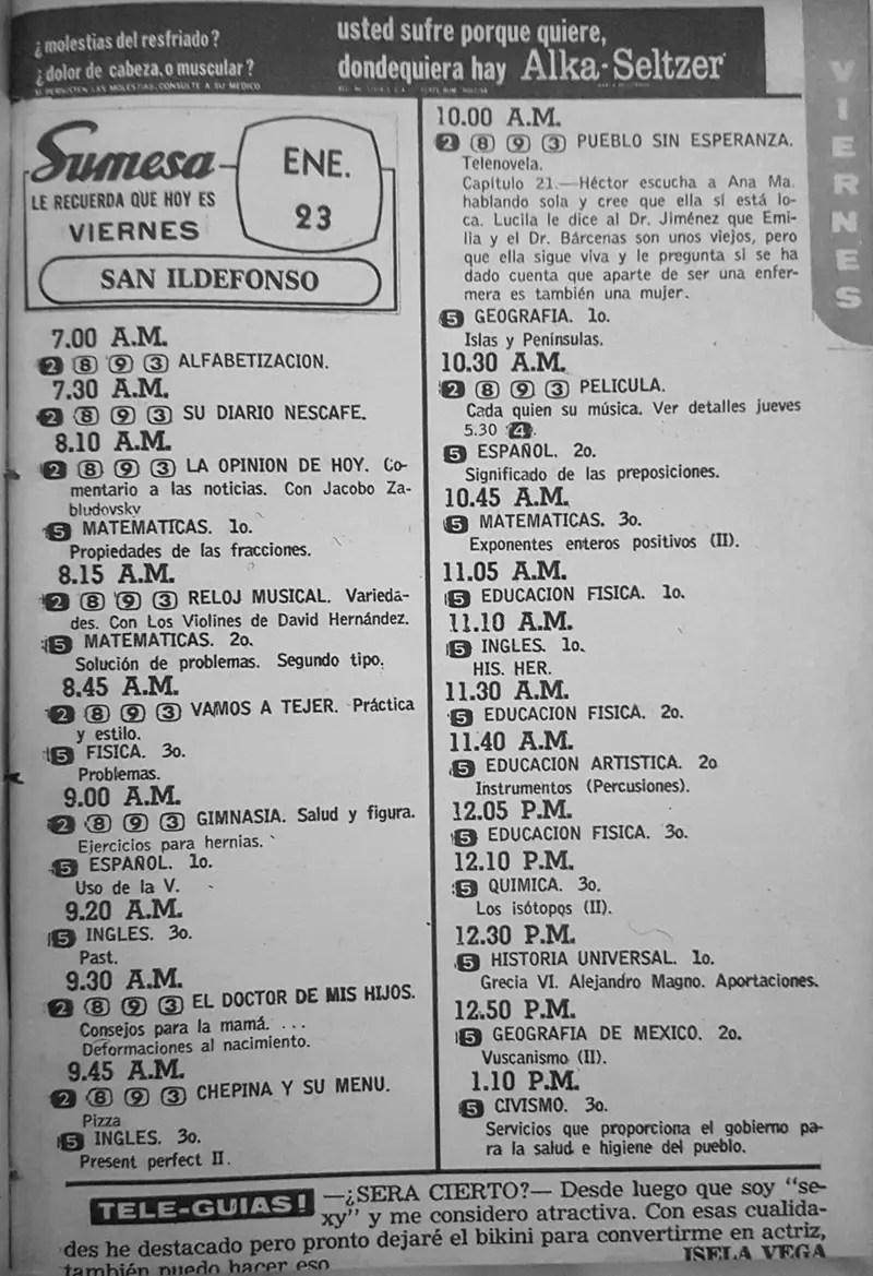 Revista Tele Guía 22 de enero de 1970 - Parte 2/6
