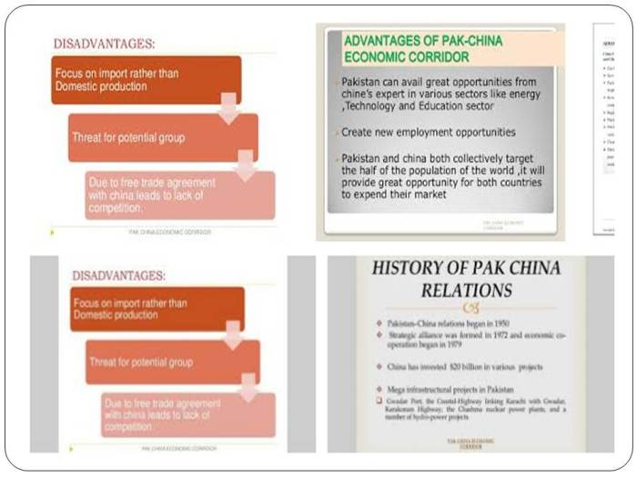 pak china economic corridor advantages and disadvantages