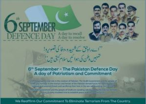 6th September Defence Day 2017 A Day To Recall A Day To Resolve