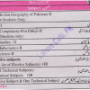 10th Class Subjects List Names In Pakistan, Matric Arts Marks Division