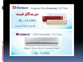 1.5 Ton AC Price In Pakistan 2017 BTU Power Consumption Inverter