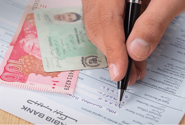 HBL Bank Account Opening Form