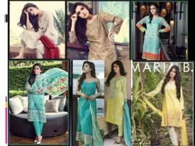 Maria B Lawn Collection 2017 With Price Online Catalogue HD Images