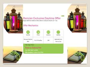 Zong Ramzan Offer 2017 Ramadan Daytime Internet Offer 1GB Seher To Iftar