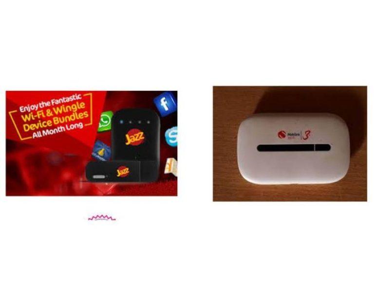 Jazz 4G Wifi Device Price