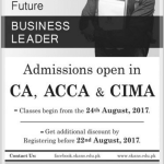CA Admission In Pakistan 2017 SKANS School Of Accountancy