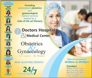 Best Gynaecologist Doctor In Lahore Doctors Hospital Johar Town Lahore Timing