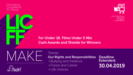 Open now: LICFF Make – Filmmaking Competition for Young 2019