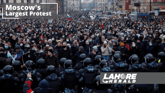 Moscows Protest