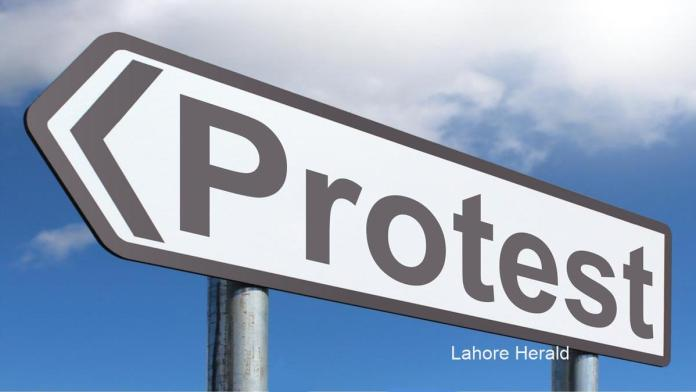 UCP Protest in Lahore