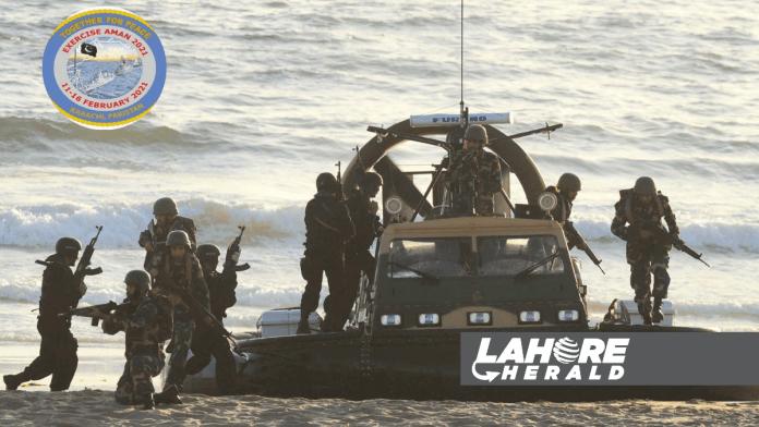 Multinational military exercise
