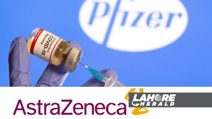 AstraZeneca and Pfizer vaccine