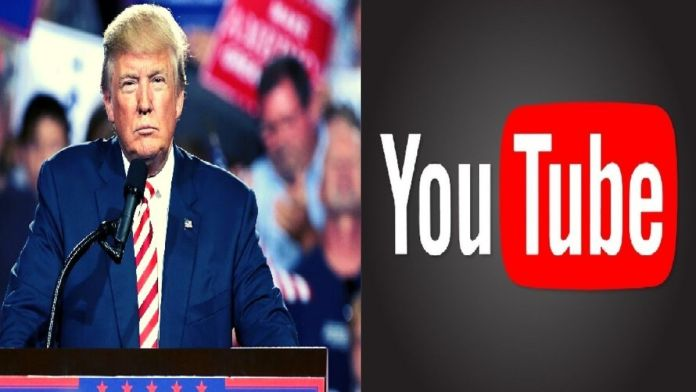 Trump YouTube account
