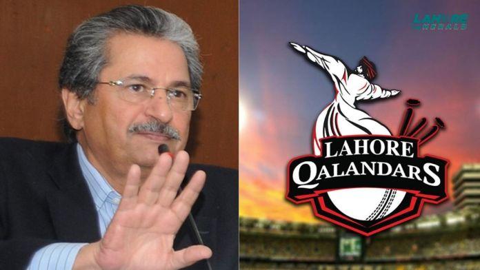 Shafqat Mehmood is a huge Lahore Qalandars