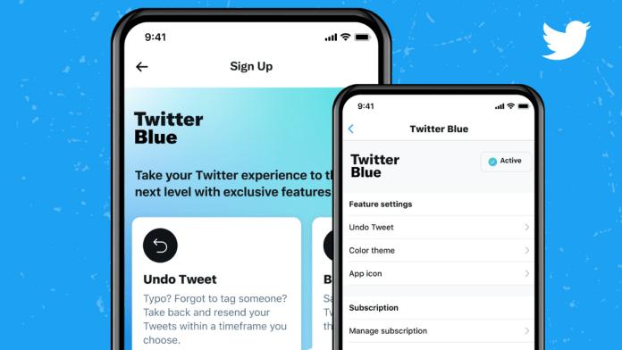 Twitter Blue Subscription