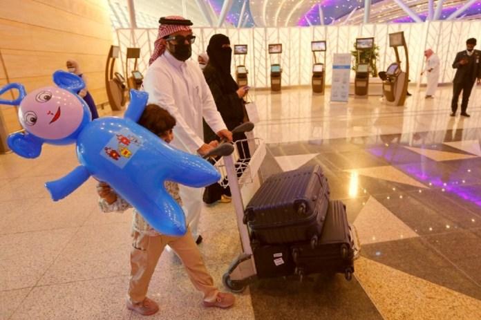 vaccinated passengers