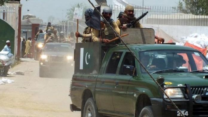 Army vehicle Pakistan