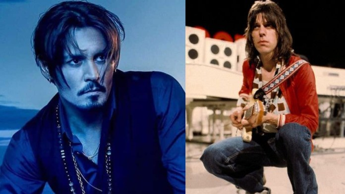 Johnny Depp and Jeff Beck