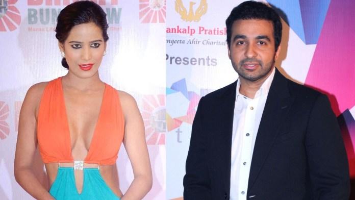 Poonam Pandey and raj kundra