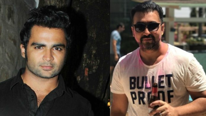 raj kundra and Actor Sachin Joshi