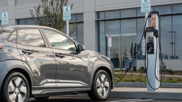 Hyundai EV fast charging