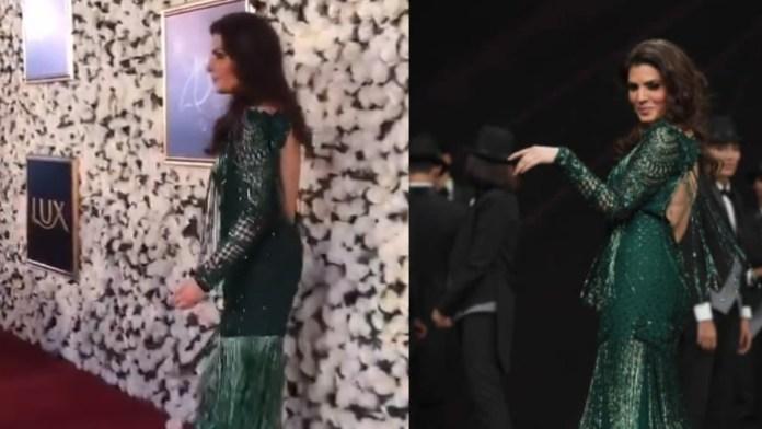 Resham backless dress