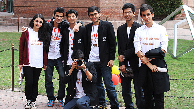 Student Volunteers at LLF2013