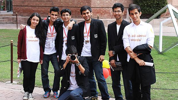 Student Volunteers at LLF2013