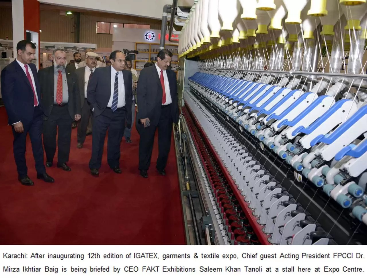 Three-Day Textile And Garments Expo 'IGATEX' Opens In Karachi